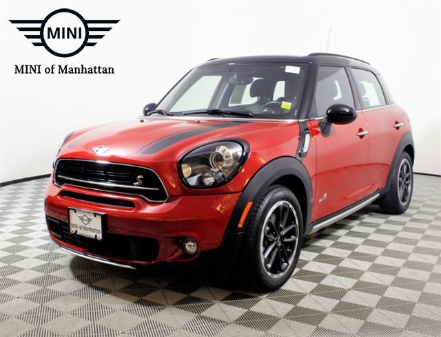 Certified Pre-Owned 2016 MINI Cooper Countryman ALL4 4dr S